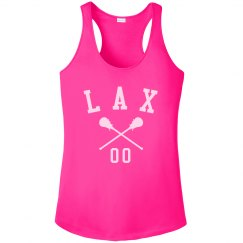 Sporty Custom Lacrosse Number