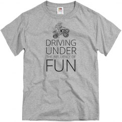 Driving under the influence of fun