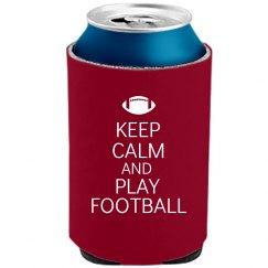 Keep Calm Football Coolie