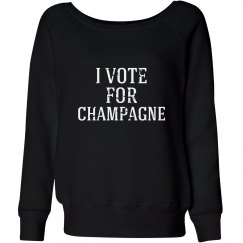 Vote For Champagne