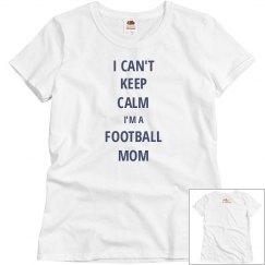 Football Mom-Keep Calm