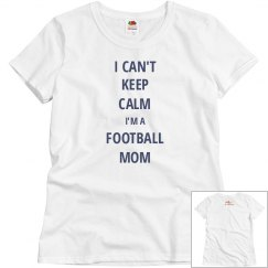 Football Mom-Keep Calm