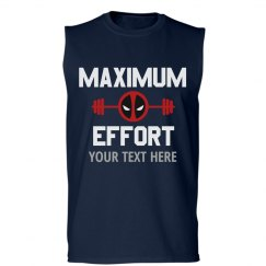 Custom Maximum Effort Gym