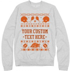 Football Food Sweater