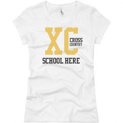 Custom Cross Country Tee