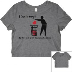 Funny Recycling Tshirt