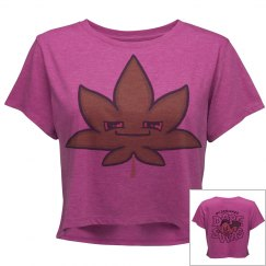 Cute Stoner Crop Shirt