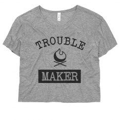 Stylish I'm A Trouble Maker