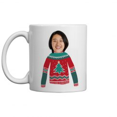 Upload Your Face Christmas Sweater