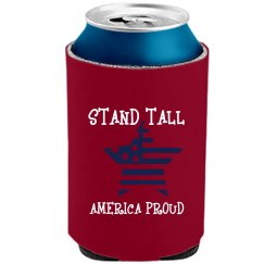 STAND TALL DEEP RED BEER COOLER