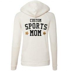 Metallic Custom Sports Mom Design