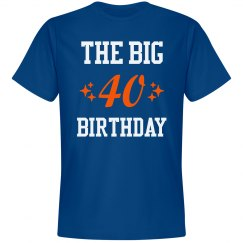 The big 40th birthday