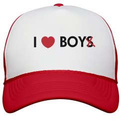 I Heart Boy Hat