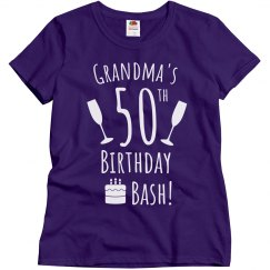 Grandma's 50th Bash!