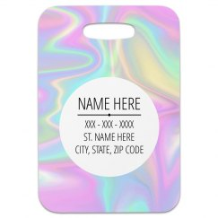 Custom Holographic Travel Tag