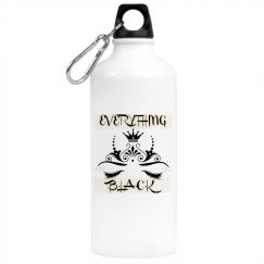 EverythingBlack Water bottle