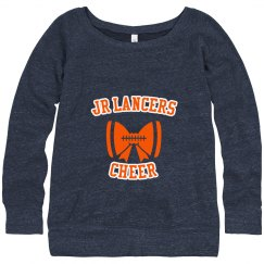 Wideneck Cheer Sweatshirt