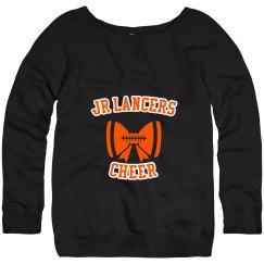 Wideneck Cheer Sweatshirt