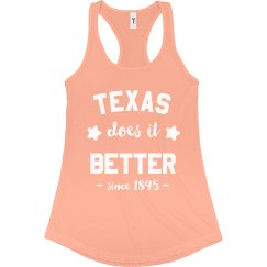 Texas Does it Better Tank