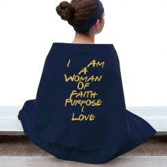 Women of Faith Blanket-Purple