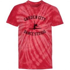 Kids GCDS Red Tie Dye