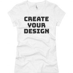Design a Custom Jersey Tee