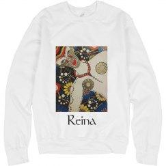 Reina de Flores Sweatshirt- Jazzy Art