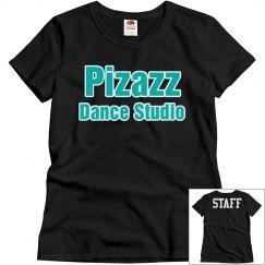 Pizazz staff shirt