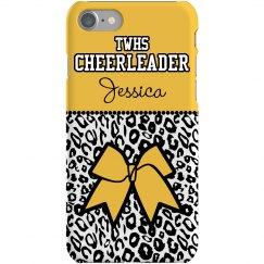 Cheetah Cheer Bow