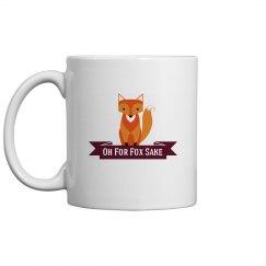 Fox cup maroon