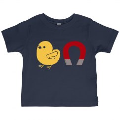 Chick Magnet (navy, toddler)