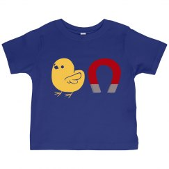 Chick Magnet (blue, toddler)