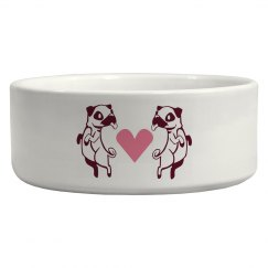 Pug Love Bowl