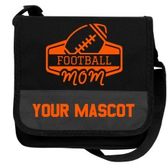 Custom Football Mom Mascot Cooler