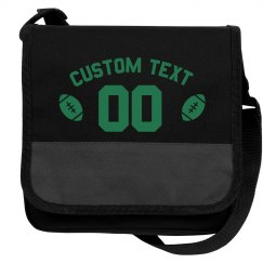Custom Football Text And Number Cooler