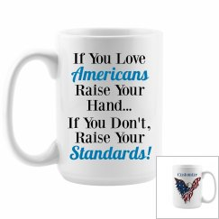 American Humor Mug