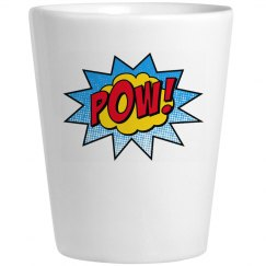 POW Shot Glass