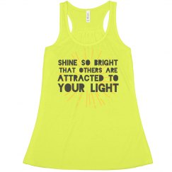 Shine So Bright Statement Tank