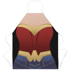 Wonder Woman Parody Apron