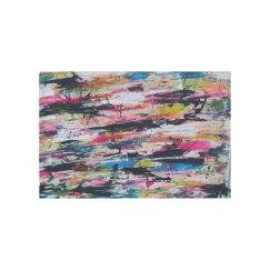 AbstractEnergy Rug-Jazzy Art