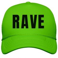 Rave Neon Green Hat