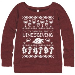 Trendy Funny Thankfull Ugly Sweater