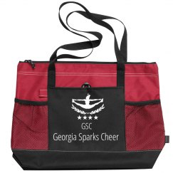 Georgia Sparks Cheer Computer Bag