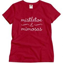 Mistletoe & Mimosas Xmas Drinking