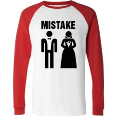 Unisex Raglan Long Sleeve Tee