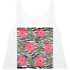 Zebra Flower Tropical