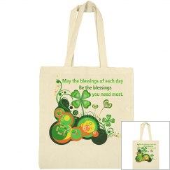 Irish Blessing, wooden plaque