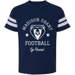 Custom High School Bears Mascot Tee