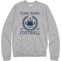 Add Your Team Custom Football Sweater