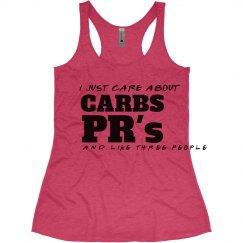 Carbs & Pr's Tank